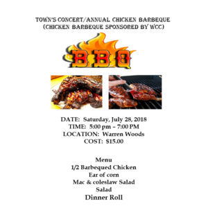 2018 Chicken Barbecue at Warren Woods 1