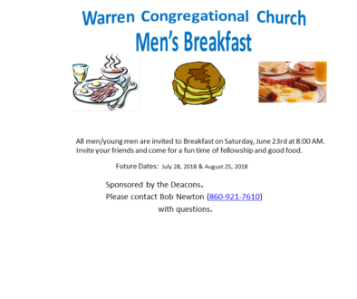 Mens Breakfast Series