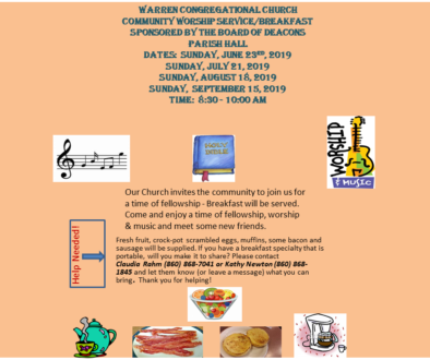 SUMMER BREAKFAST SERIES 2019 4